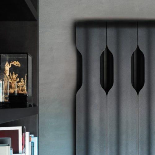 detalle radiador de diseño Ágora de Tubes