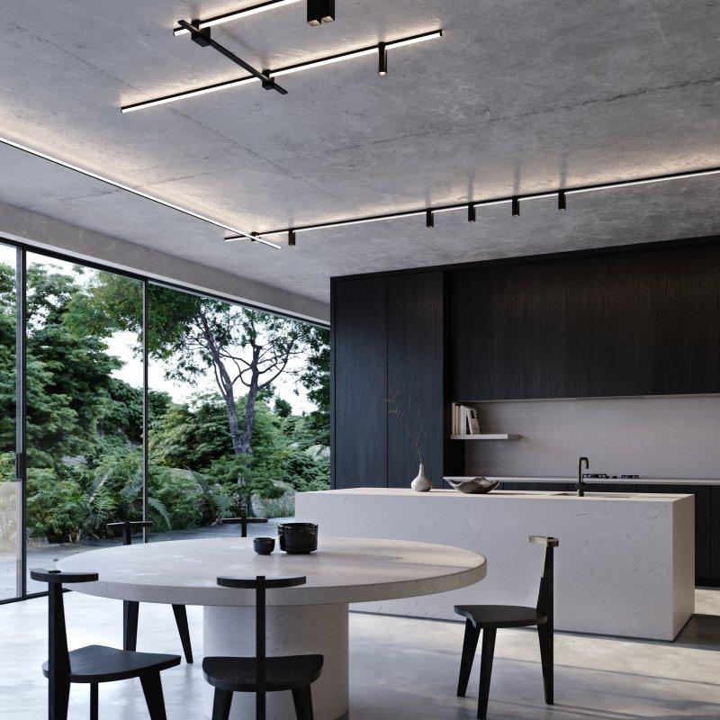 luminaria para techo 3d kagi de kreon