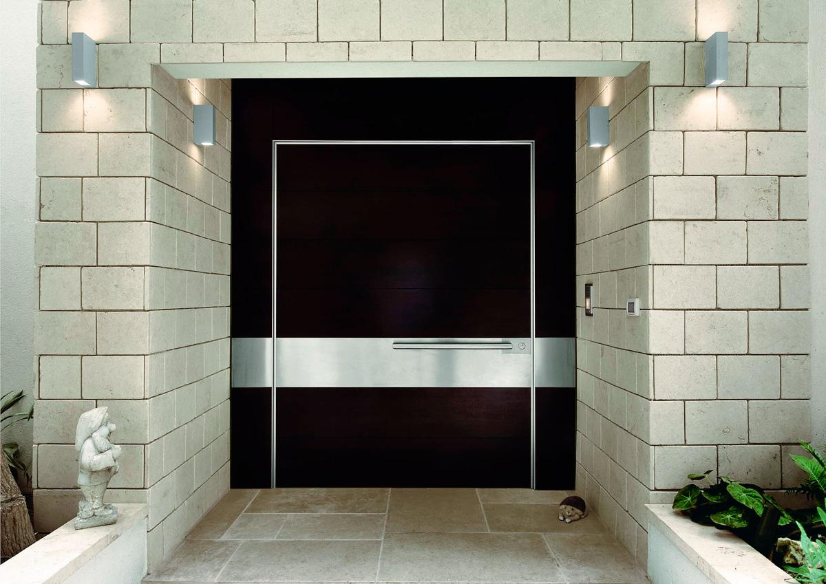 puerta blindada ancho personalizado Synua Wall Syste de Oikos