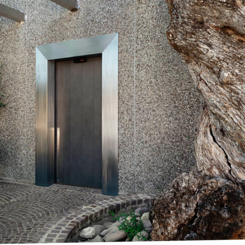 puerta blindada de lujo Oikos serie Vela