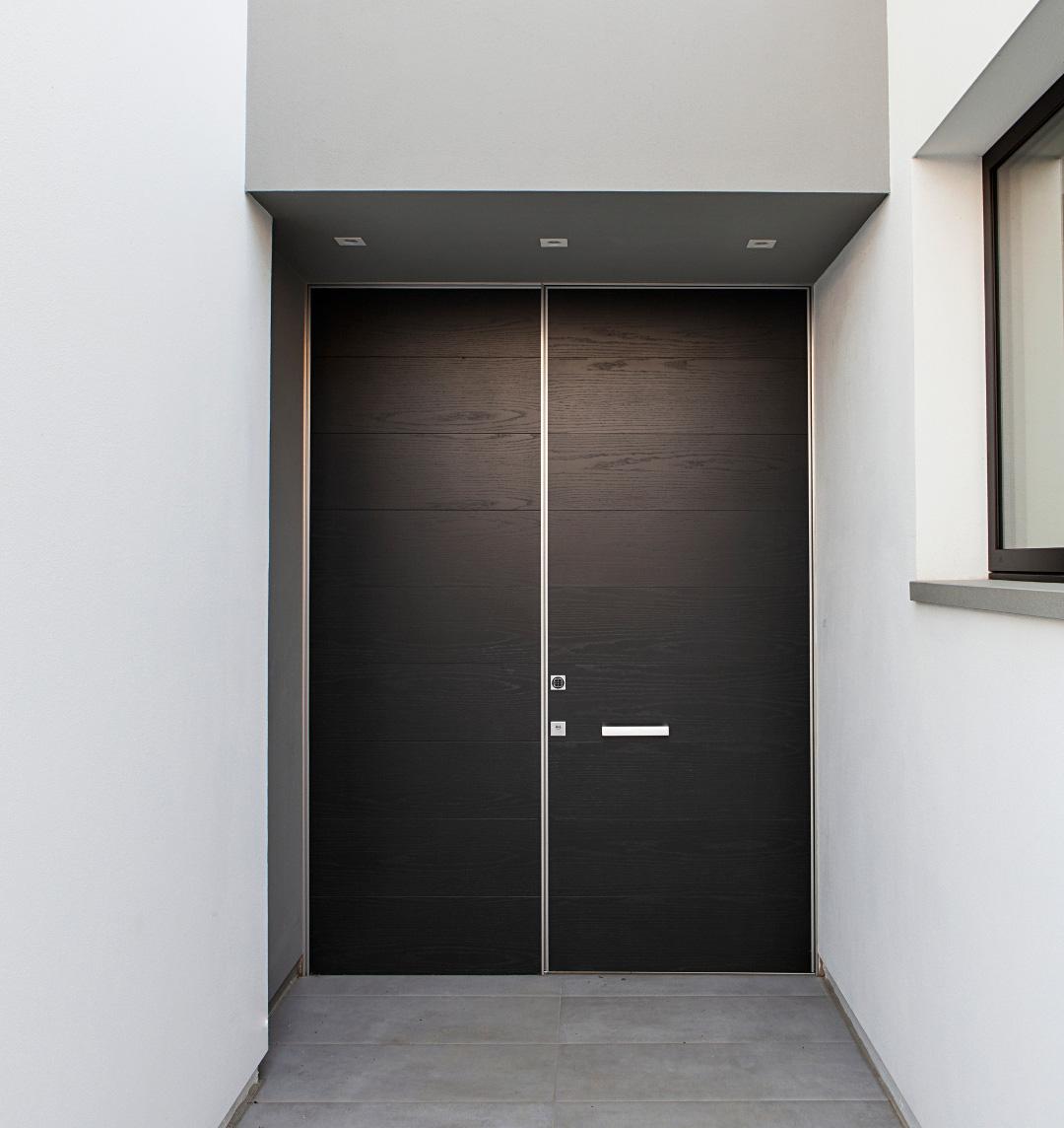 puerta blindada doble hoja synua wallsystem de Oikos