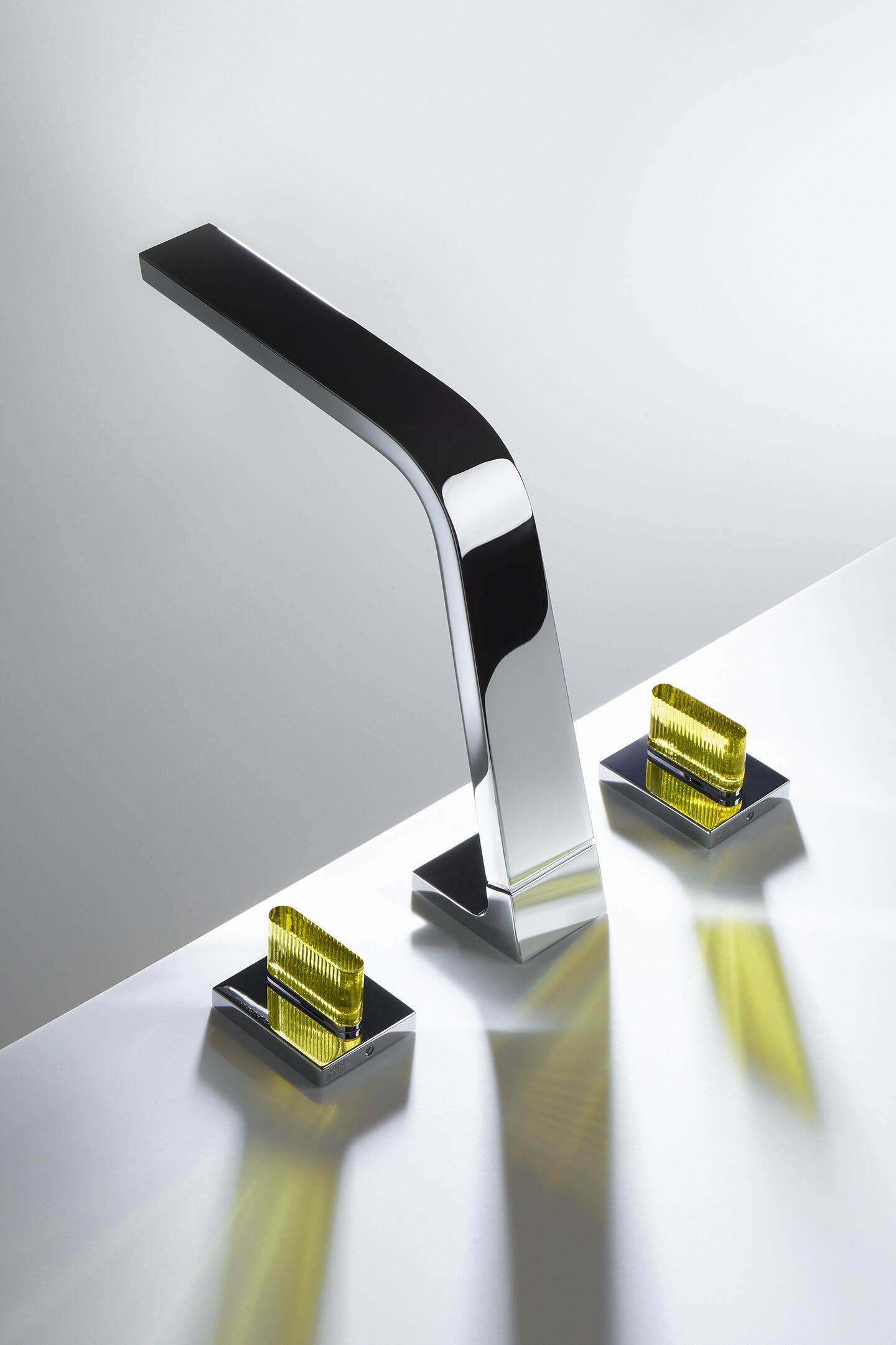 Dornbracht modelos CL1 Chrome Crystal Handle para baño
