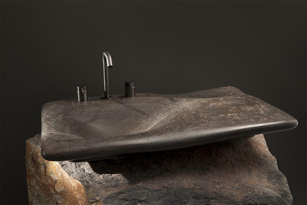 Lavabo Flow diseñado por Miguel Herranz para Nerinea