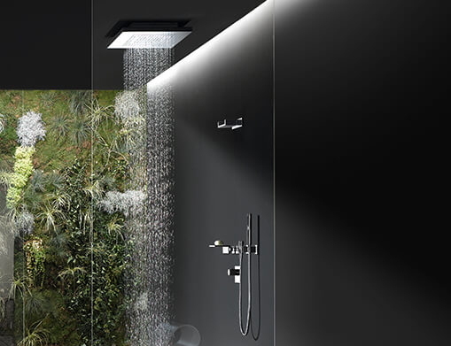 Duchas de alta gama de diseño Dornbracht -modelo Rain