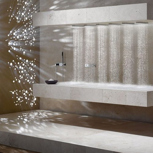 Wellnes Dornbracht Horizontal Shower