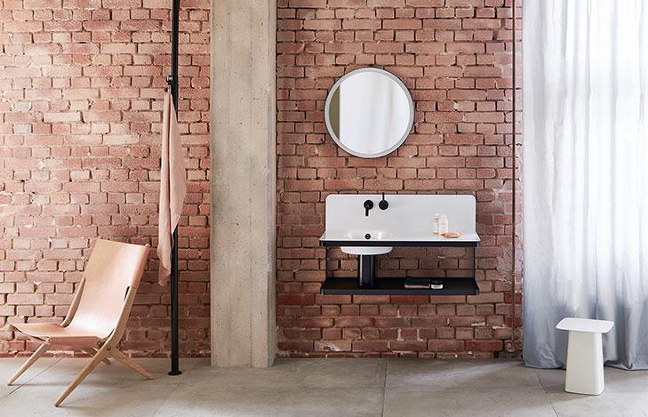 lavabo de diseño Alape modelo steel19