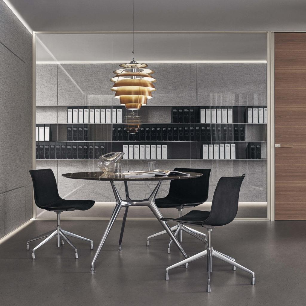 Sistema panelado Rimadesio Modulor para oficina