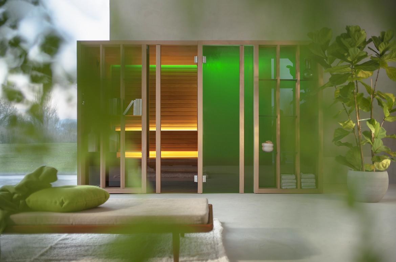 sistemas integrados sauna hammam de Effegibi