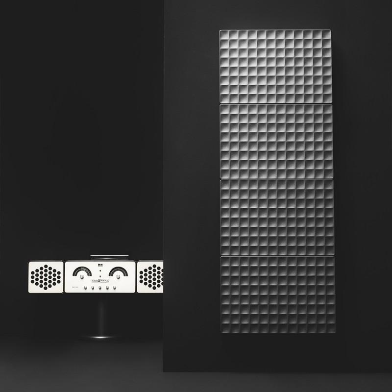 Antrax IT Radiador modelo Waffle estilo industrial