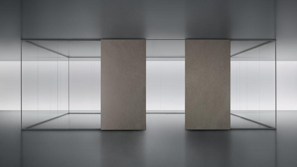 Rimadesio Spazio con puertas Graphis Plus