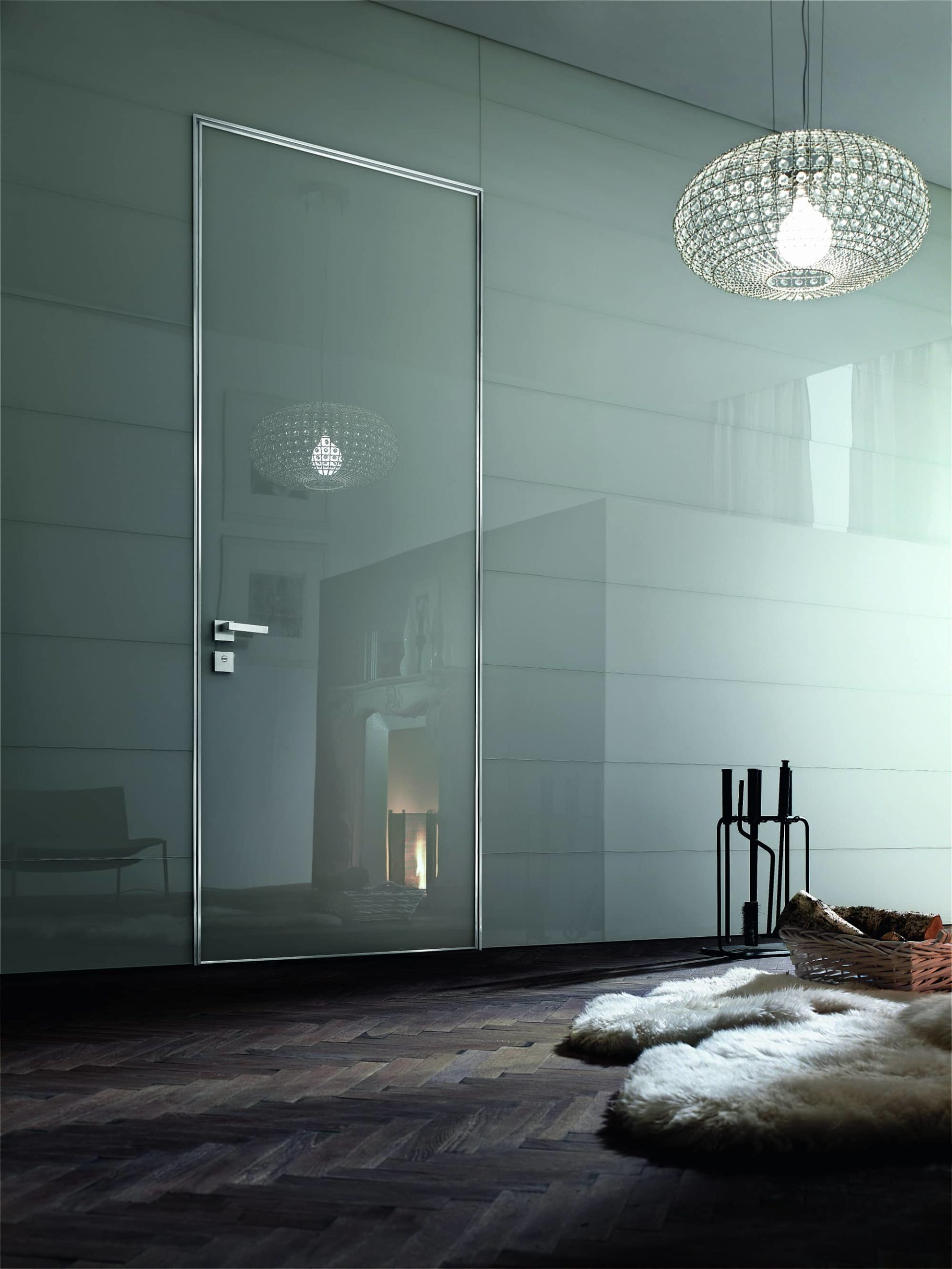 Oikos puerta Project Vidrio