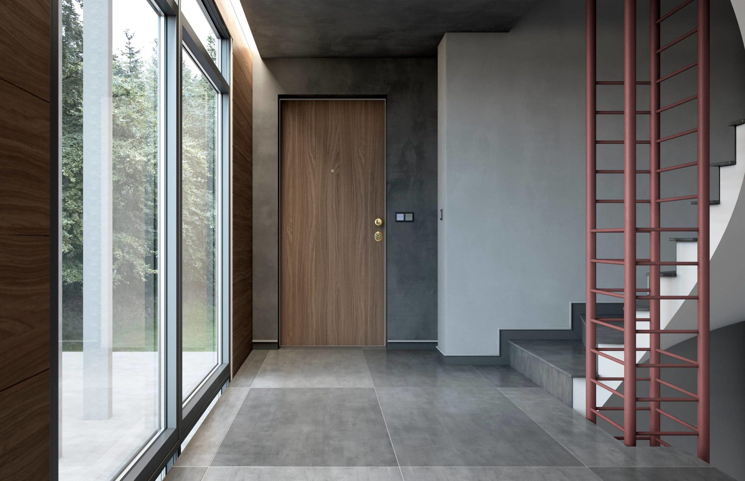 Oikos puerta Project escalera