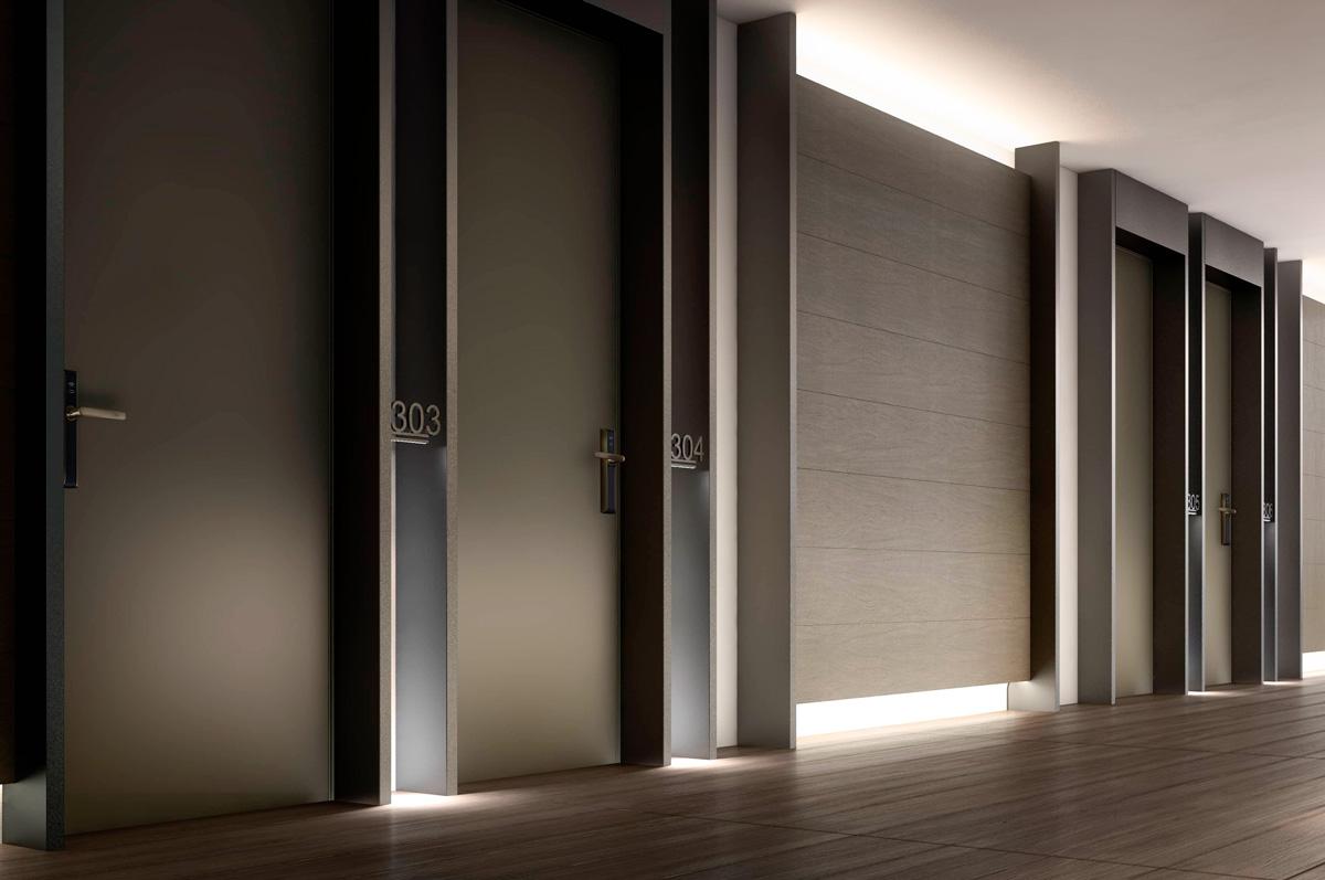 puertas de seguridad Oikos modelo project