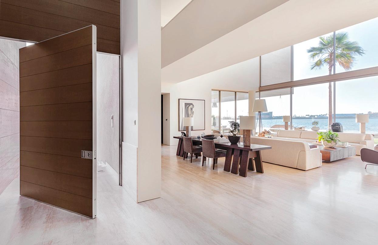 puerta acorazada Oikos Venezia en proyecto Dubai