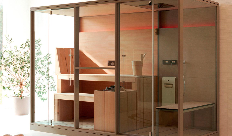 Sauna Effegibi proyectos Home Spa y Wellness en casa