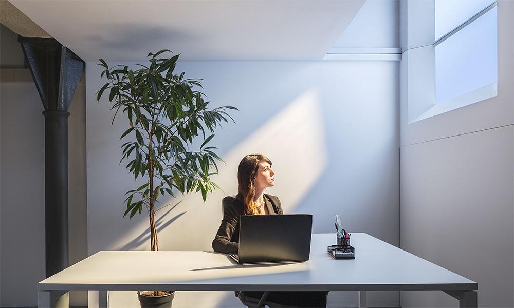 Coelux luminaria luz natural simulada 45 Square
