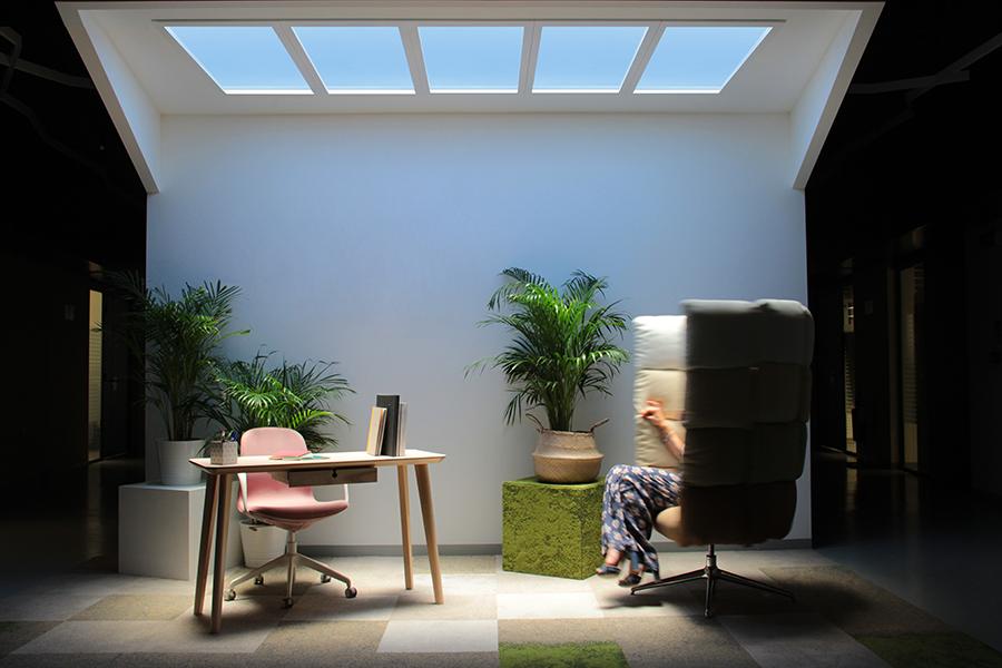 Iluminación natural artificial Coelux HT 25