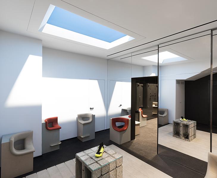 Luminaria Coelux iluminación natural artificial 45 HC