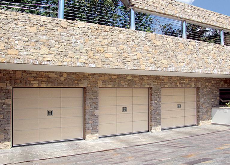 Puerta de Garaje Blindada SILVELOX, Secur Plus