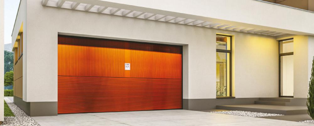 Puertas blindadas de garaje SILVELOX